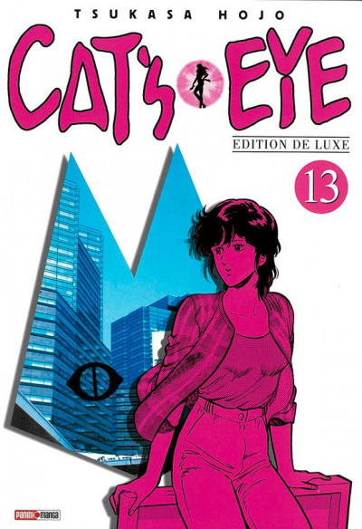 Couverture Cat's eye - édition 2018 tome 13