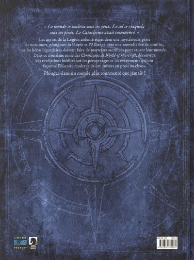 Dos World of warcraft - Chroniques tome 3