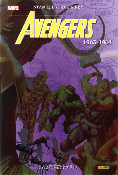 Couverture Avengers intégrale tome 1 - 1963-1964 (édition 2018)
