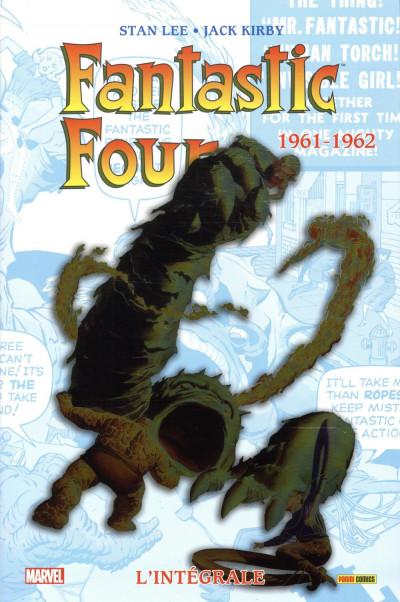 Couverture Fantastic Four - intégrale tome 1 - 1961-1962