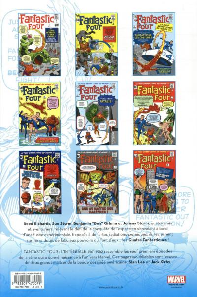 Dos Fantastic Four - intégrale tome 1 - 1961-1962