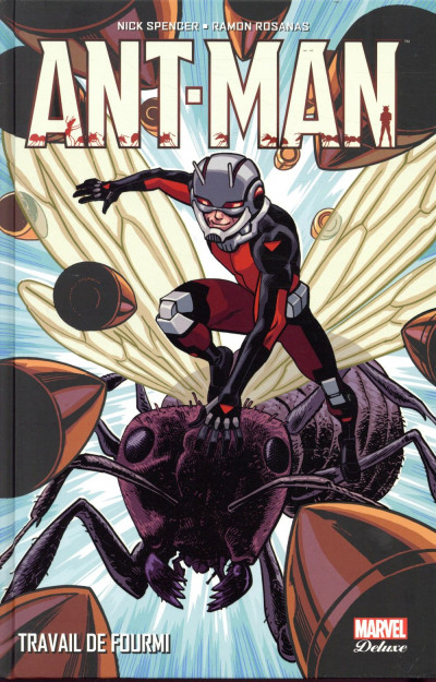 Couverture Ant-man - deluxe