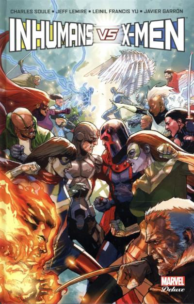 Couverture Inhumans vs X-Men