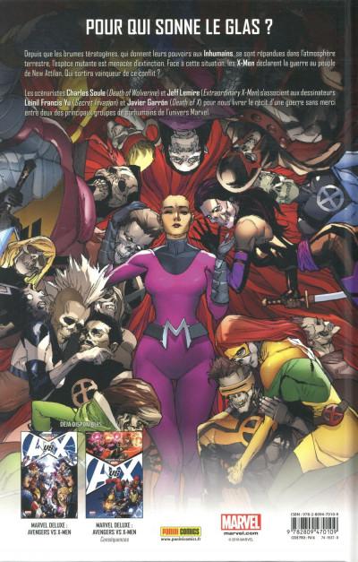 Dos Inhumans vs X-Men