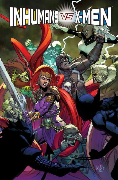 Page 1 Inhumans vs X-Men