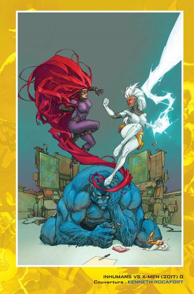 Page 5 Inhumans vs X-Men