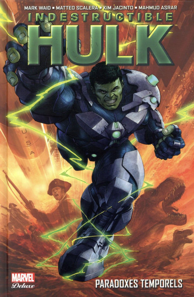 Couverture Indestructible Hulk tome 2
