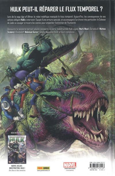 Dos Indestructible Hulk tome 2