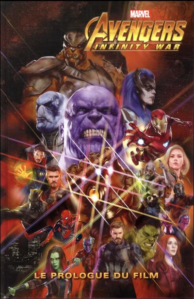 Couverture Avengers - Le prologue du film