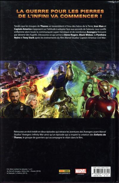 Dos Avengers - Le prologue du film