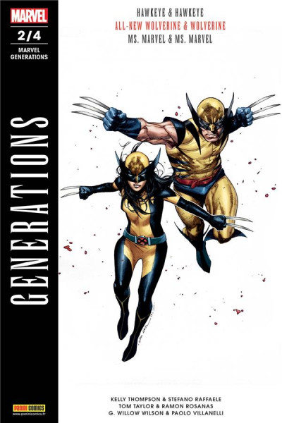 Couverture Marvel generations tome 2