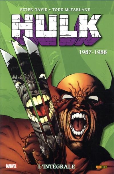 Couverture Hulk - intégrale tome 2 - 1987-1988 (nouvelle édition)