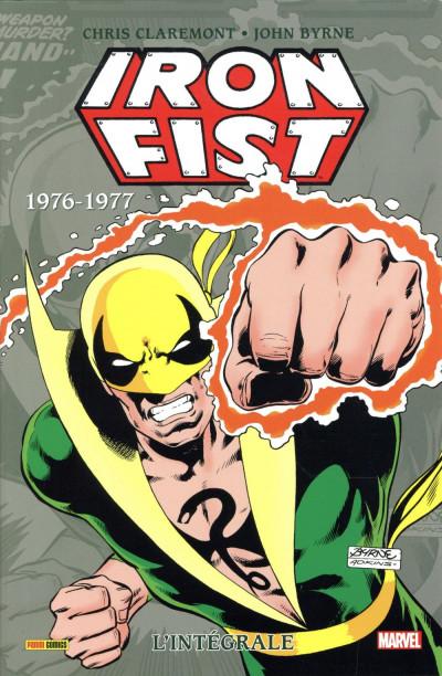 Couverture Iron fist - intégrale tome 2