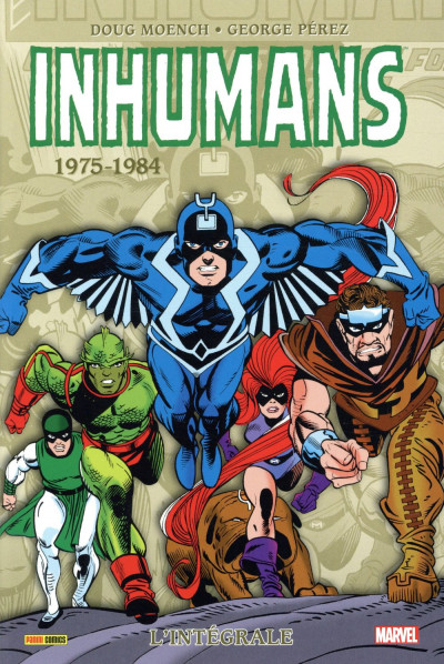Couverture Inhumans - intégrale tome 2