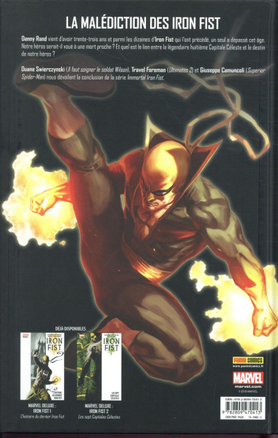 Dos Iron fist - deluxe tome 3