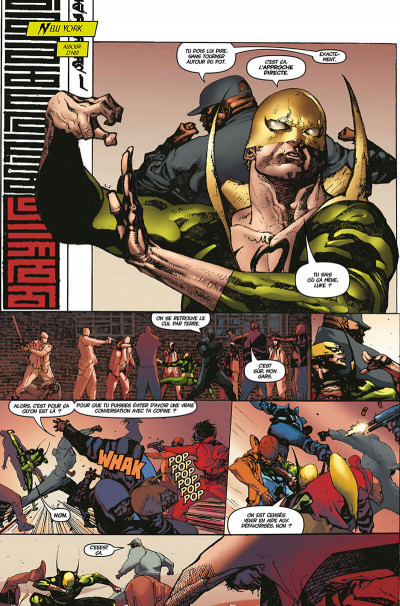 Page 9 Iron fist - deluxe tome 3
