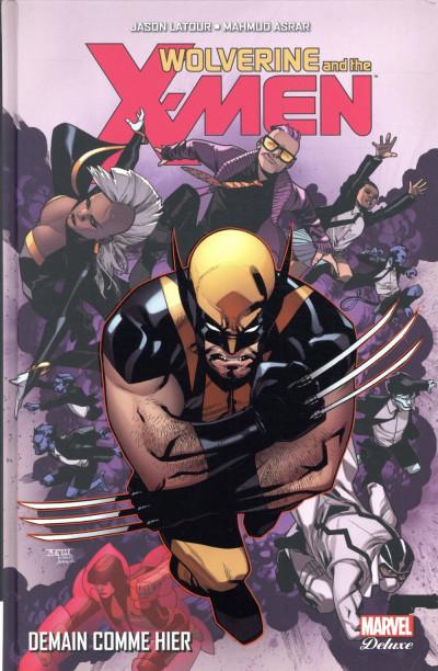 Couverture Wolverine et les X-men tome 5