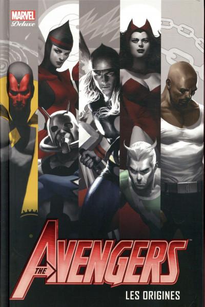 Couverture Avengers - les origines