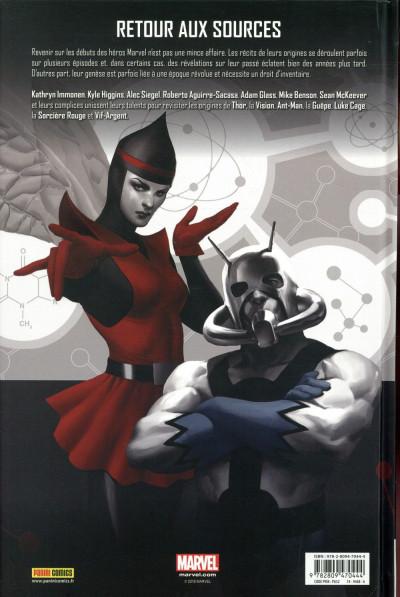 Dos Avengers - les origines