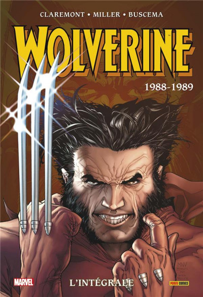 Couverture Wolverine - intégrale tome 1