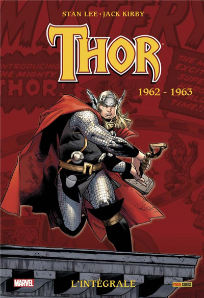 Couverture Thor - intégrale tome 1