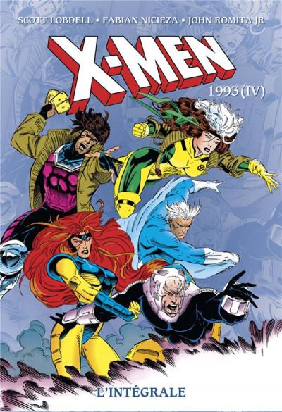 Couverture X-men - intégrale tome 35 - 1993 (IV)