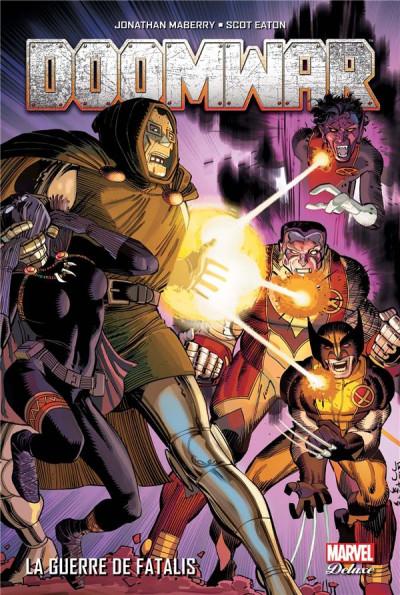 Couverture Doom war - La guerre de Fatalis