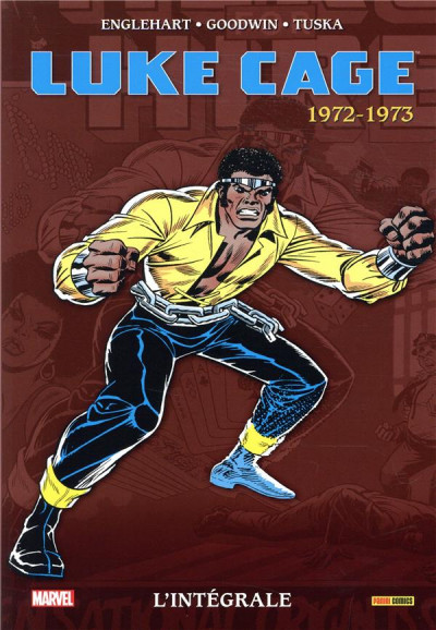 Couverture Luke Cage - intégrale tome 1 - 1972-1973