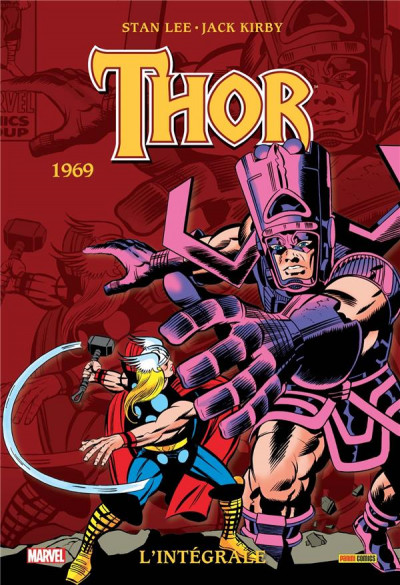 Couverture Thor - intégrale tome 11 - 1969