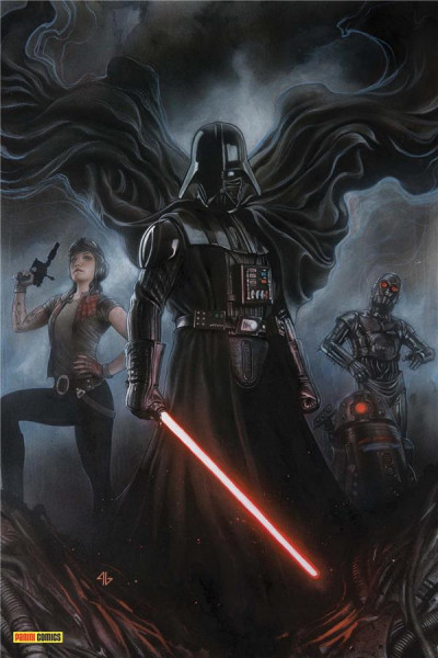 Couverture Star wars - fascicule série 2 tome 5 (variant Angoulême)