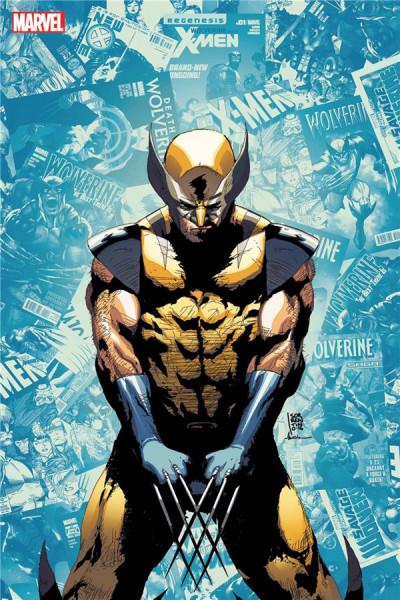 Couverture X-men - resurrxion tome 4 (variant Angoulême)
