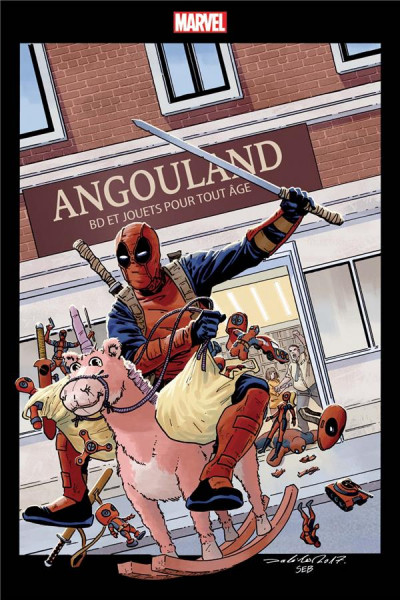 Couverture Deadpool tome 9 (variant Angoulême)