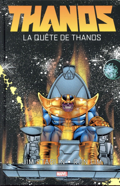 Couverture Thanos - La quête de Thanos