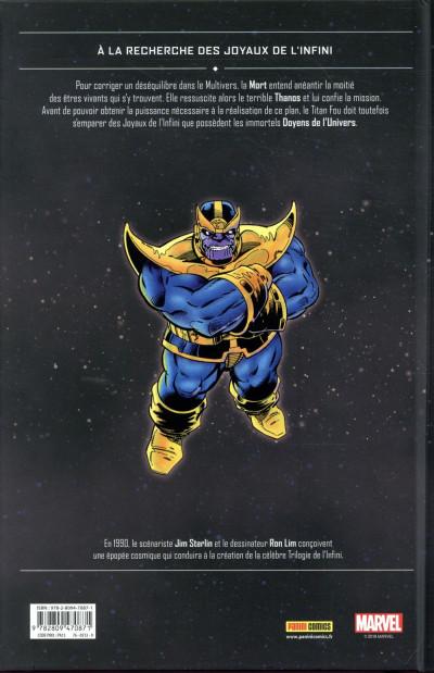 Dos Thanos - La quête de Thanos