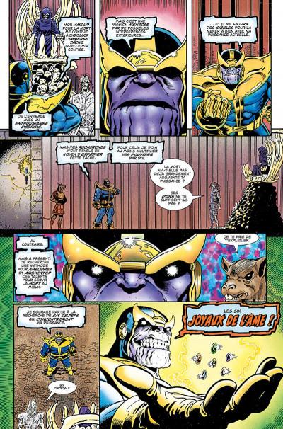 Page 9 Thanos - La quête de Thanos