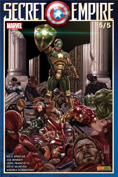 Couverture Secret empire tome 5
