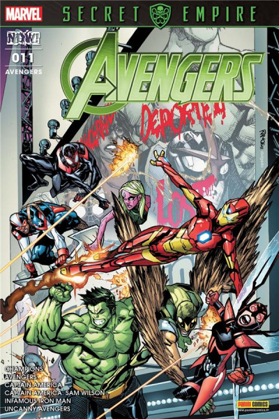 Couverture Avengers tome 11