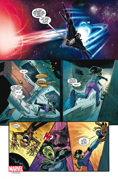 Page 3 Marvel universe tome 5