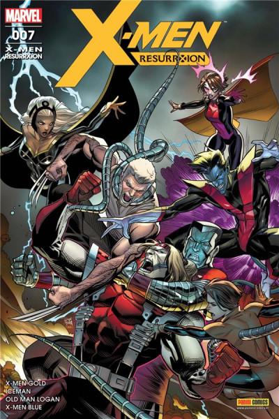 Couverture X-Men resurrxion tome 7