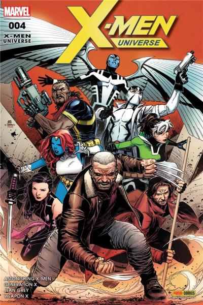 Couverture X-Men universe tome 4