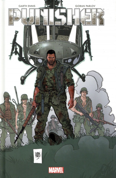 Couverture Punisher - The platoon