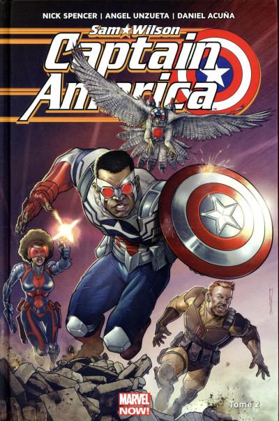 Couverture Captain America - Sam Wilson tome 2