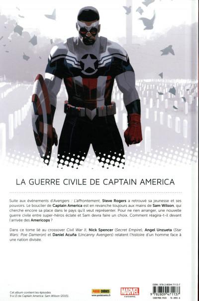 Dos Captain America - Sam Wilson tome 2