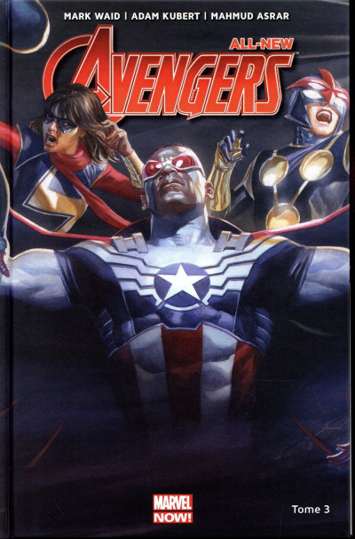 Couverture All new Avengers tome 3