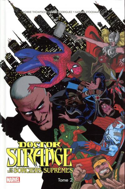 Couverture Doctor Strange et les sorciers suprêmes tome 2