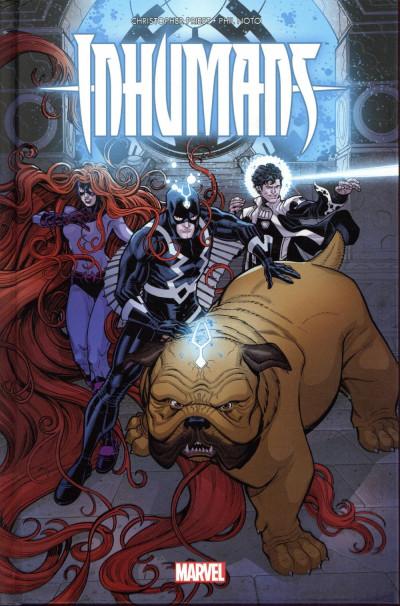 Couverture Inhumans - Rois d'hier et de demain