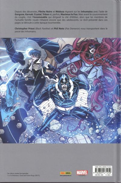 Dos Inhumans - Rois d'hier et de demain