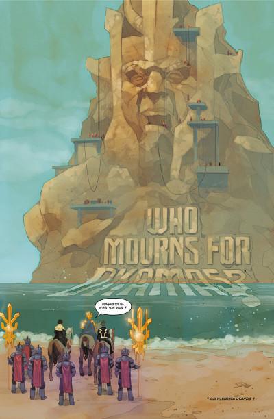 Page 5 Inhumans - Rois d'hier et de demain