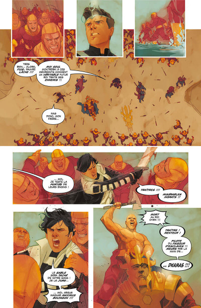 Page 9 Inhumans - Rois d'hier et de demain