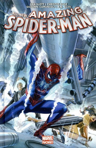 Couverture All-new amazing spider-man tome 4